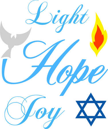 flame letters: Display a message of hope and support with a beautiful dove saying.