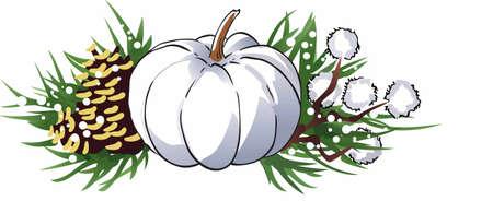 bounty: Mostrar una generosidad de la cosecha para las fiestas. Vectores