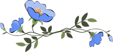 Add life to garden decor with a pretty morning glory flower design.