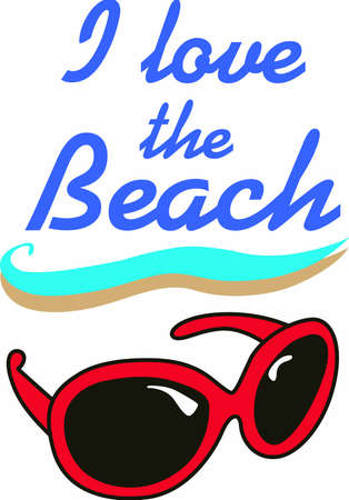 eye wear: Life is good when you are on vacation at the beach.  Include this when packing for your summer trip.  Everyone will love it!