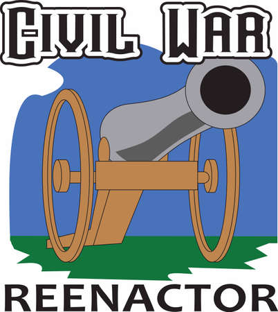 Show your love for history with a civil war cannon.