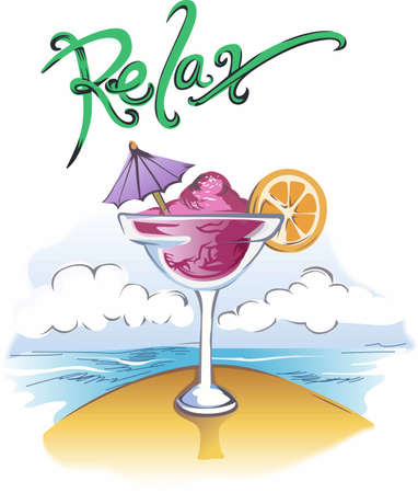 daiquiri alcohol: Why wait til five oclock for a drink  Start the party now.  Everyone will love it! Illustration