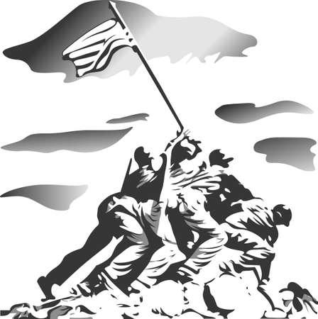 우리의 자유를 축하하십시오 신의 축복을 미국! 7 월 4 일을 기념하기 위해 가족 및 친구들을위한 아이템에 딱. 그들은 그것을 좋아할 것이다! 일러스트
