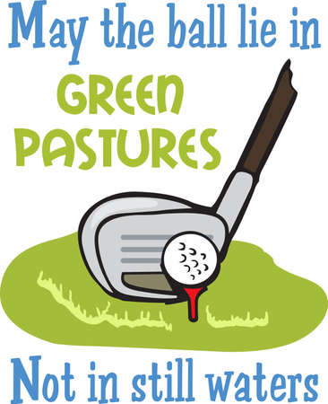 individual sports: Golf is a great past time sport to enjoy playing with a group or on your own.  A perfect design for the golfer from Great Notions.