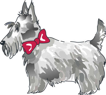 Have a scottish terrier with you always with this little dog.