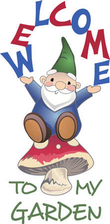 All gardens need a happy little gnome.