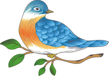 animal limb: Good morning sunshine!  This bluebird of happiness is bringing your cup of coffee.  Perfect for those who need that morning cup of coffee to start the day!