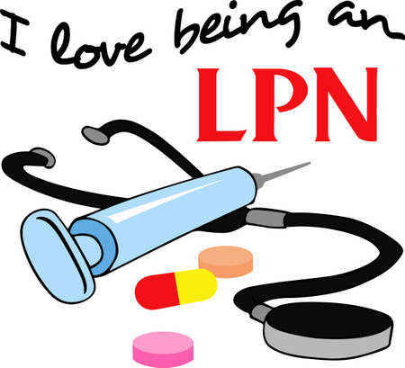 lpn: Any skilled medical professional will enjoy having their own tools of the trade.