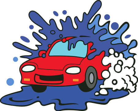 car wash: Show your pride for your car wash.  Its the perfect advertisement.  Everyone will love them!