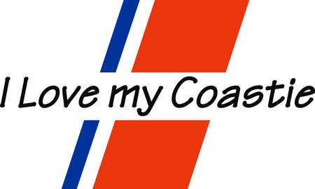 Let them know you are proud of your Coast Guard hero.  Show support for our troops with this special design.