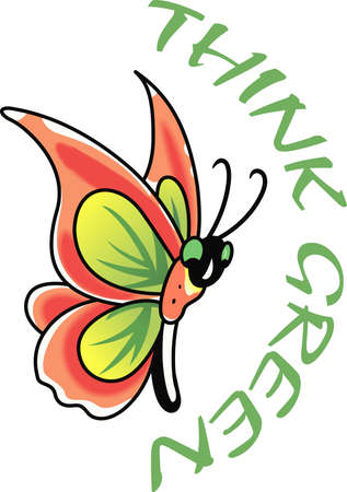 This beautiful butterfly is perfect for your springtime design.