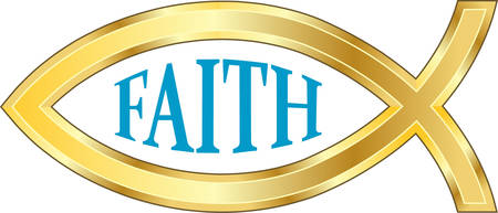 ichthys: The fish as a symbol in Christianity is nearly as old as the Christian faith itself.   Illustration