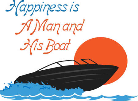 marine scenes: What happens on the boat stays on the boat.  Send this to your boating junkie.  They will love it!