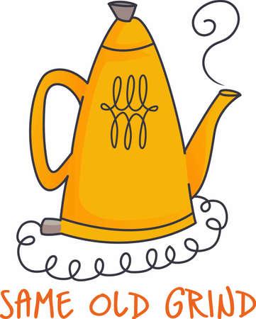 すべての良いキッチンには、コーヒーの大きな鍋が必要があります。