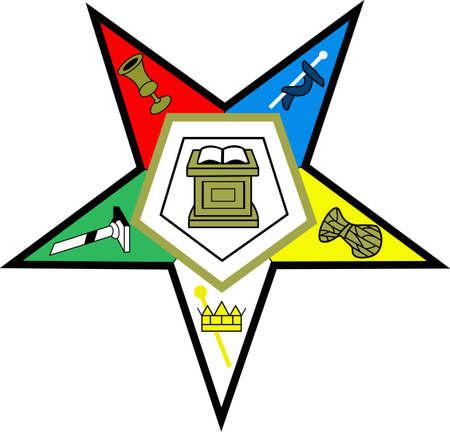 freemason: Masons can display their belifs with this emblem.