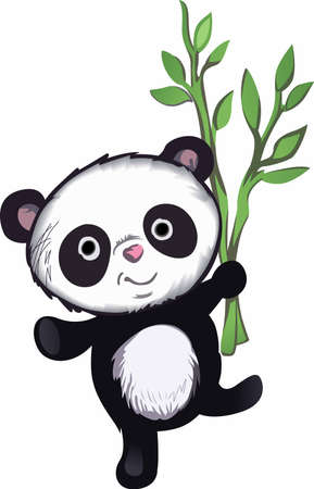 reminding: Show your love for mother Earth.  Send this adorable panda to someone you know who need reminding what they can do to help the environment.  They will love it! Illustration