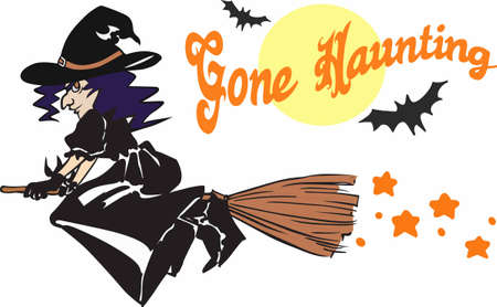 crone: Have a witch for some halloween fun.