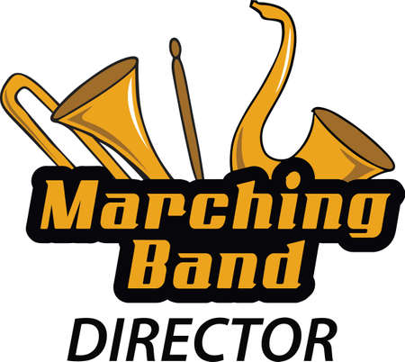 brass band: Make a marching band project with these instruments.