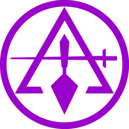 Masons will love to have this symbol for any project. Ilustrace