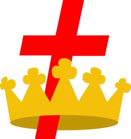 affiliation: Show your religious affiliation with this design. Illustration