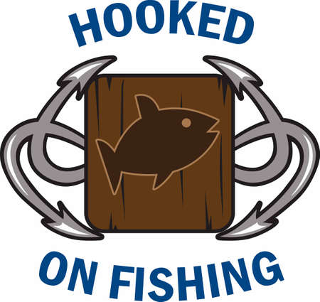 the big fish: Fishermen always want a big fish. Illustration
