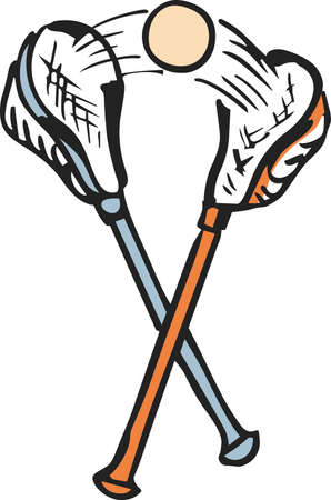 Love the sport of lacrosse!  Get this design for the team from Great Notions.