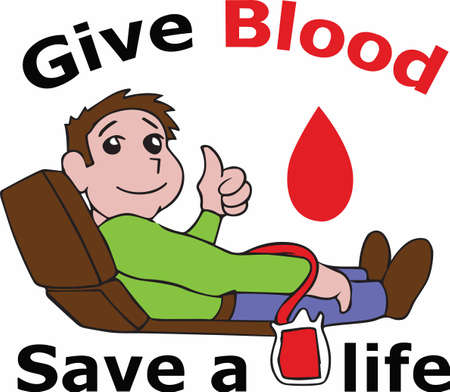Be a hero by giving blood.