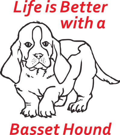 bred: Mi mejor amigo es duro en el trabajo para m�. Mostrar todo el mundo lo mucho que significa que su perro para usted. Se les va a encantar! Vectores