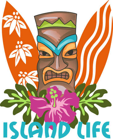 surfistas: Come and visit the island of Hawaii!  Surfers and beach goers enjoy the tropical Hawaiian island as their travel destination.
