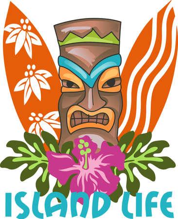 Kom en bezoek het eiland Hawaï! Surfers en strandgangers genieten van het tropische Hawaiiaanse eiland als hun reisbestemming.