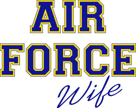 us air force: Make a great project with a military design.