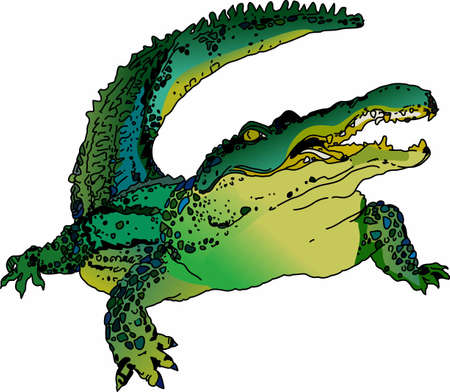 aligator: Use this Aligator design for your next reptile project
