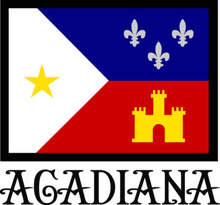 Use this Acadiana design on your next project