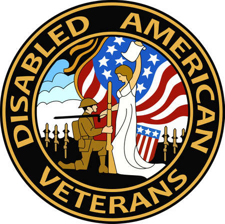 patch: Wear a veteran patch with pride for military service.