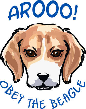 beagle puppy: Show your love for your beagle with this cute puppy.