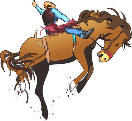 Rodeo riders are a western cultural tradition.
