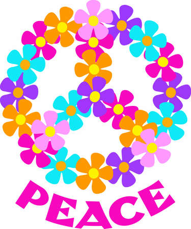 it is full: Show your support for peace and love.  Not just for those 60s Hippies anymore, retro is full in style.  Send this to someone special.  They will love it!
