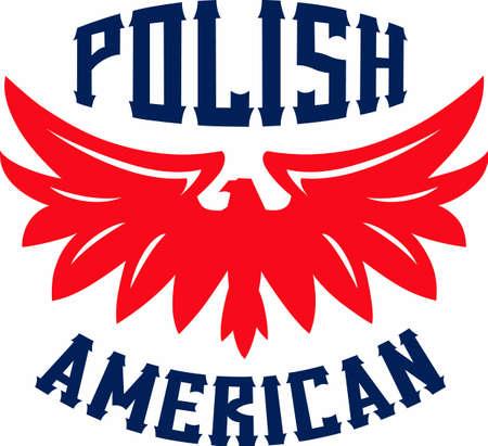 miras: Ayakta Polonyalı mirası tutun Çizim
