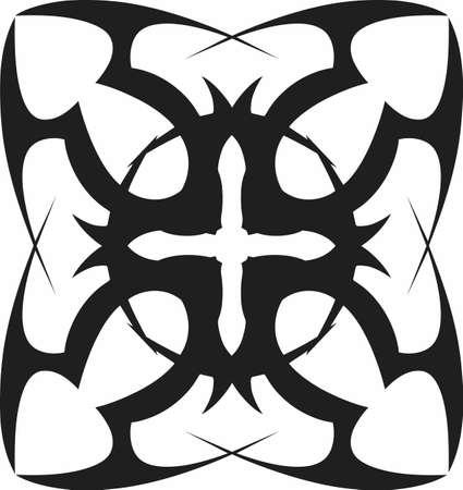 Afficher une belle croix pour la décoration religieuse. Banque d'images - 45295144