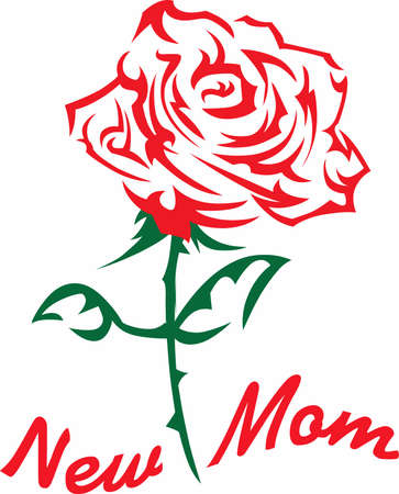 long stem: This beautiful red rose makes a perfect gift!