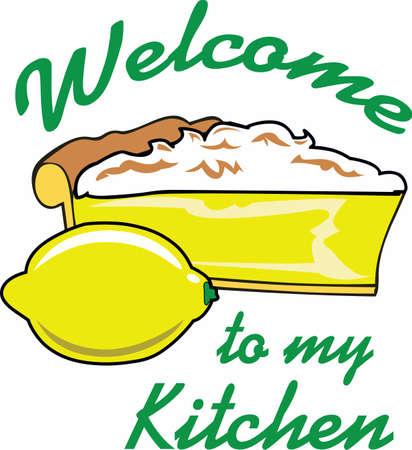 Cucina fatta in casa è semplicemente troppo bello per passare. Portare un po 'di ispirazione dolce per la vostra cucina con questo disegno! Archivio Fotografico - 45295458