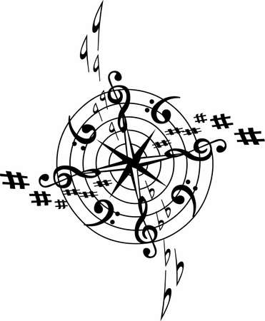 Where words fail, music speaks to the soul.  They will love this design to show their musical talent!