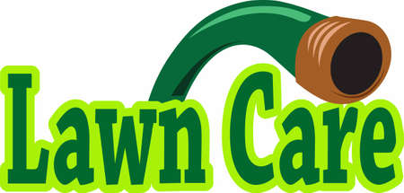 lawn care: Your lawn care service takes great care of your yard.  This is a perfect design to thank them.