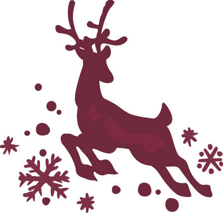 donner: A lovely reindeer is a classic holiday decoration.