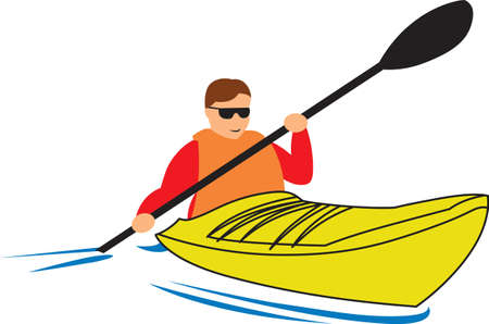 raft: Kayakers will love this boat to show off their hobby.