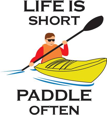 Kayakers will love this boat to show off their hobby.