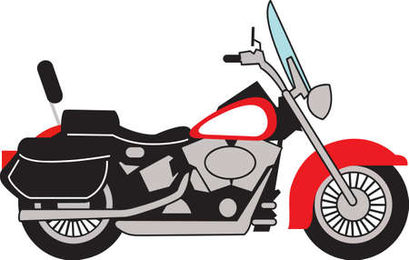 Motorcycle riders will love this beautiful bike.