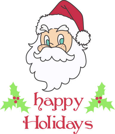 mrs santa claus: Decorate for a the holidays Mrs. Clause. Illustration