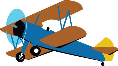 vintage plane: A nice vintage plane will be enjoyed by all airplane enthuasists.