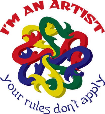 나는 예술가이고 규칙은 적용되지 않습니다.